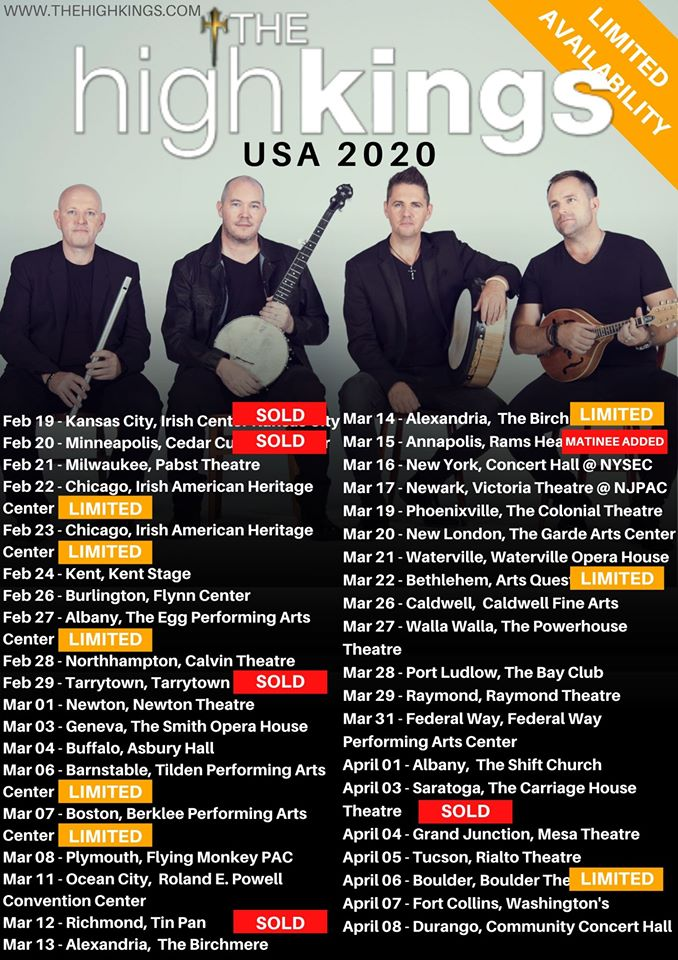2020 US Tour.