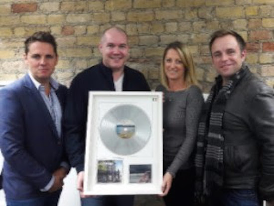 The High Kings take home IMRO Number 1 Award.
