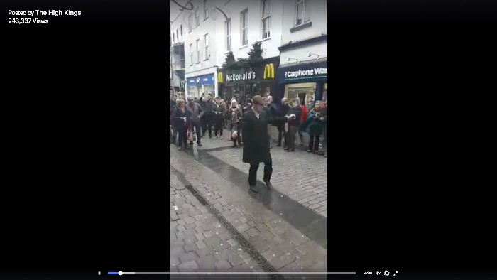 THK Galway Instore footage becomes viral hit online !!