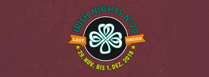 Irish Nights Kammgarn 2018
