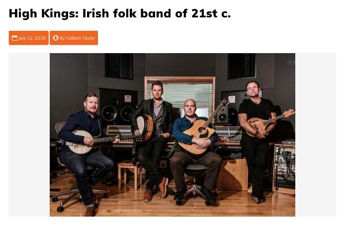 Irish Echo Review of recent Dublin Show