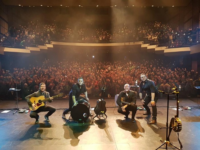 The High Kings Irish Tour Kicks Off With Great Show In Donegal.