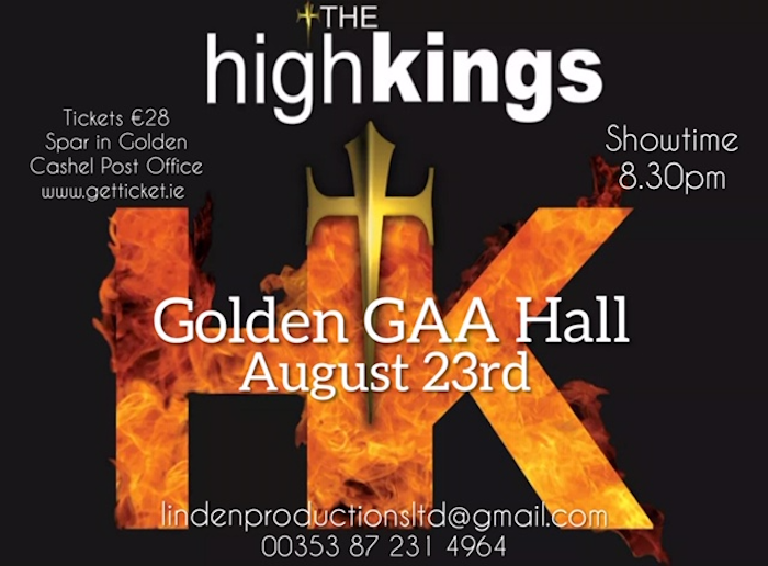 Golden GAA Hall Concert.