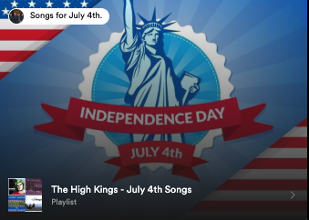 The High Kings - July 4th Songs