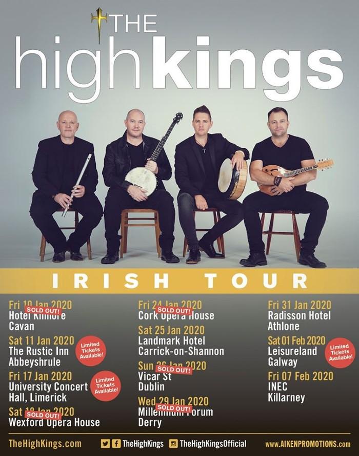 Irish Tour 2020.