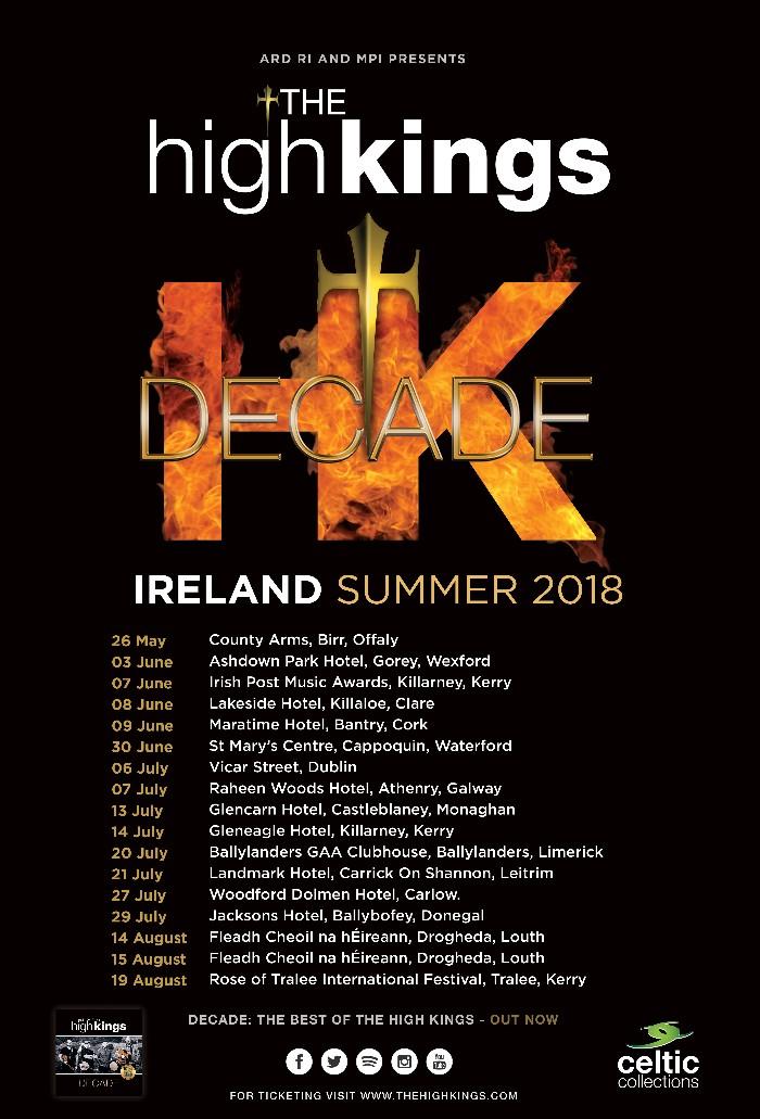 Summer Shows 2018 - Ireland