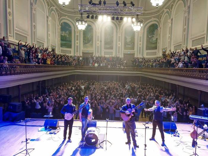 Stellar Show in Ulster Hall, Belfast