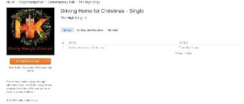 Xmas Single 'Driving Home For Christmas' Now Available on iTunes