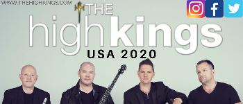 The High Kings 2020 US Tour