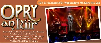 The High Kings performance at this year's Opry An Iuir will be repeated on New Year's Eve TG4....